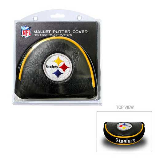 32431: Golf Mallet Putter Cover Pittsburgh Steelers