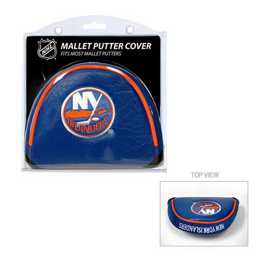 14731: Golf Mallet Putter Cover New York Islanders