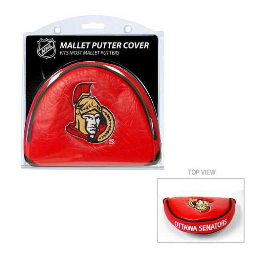 14931: Golf Mallet Putter Cover Ottawa Senators