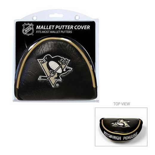 15231: Golf Mallet Putter Cover Pittsburgh Penguins