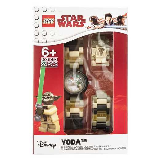 LEGO-8021032: Star Wars Yoda Kids' Watch