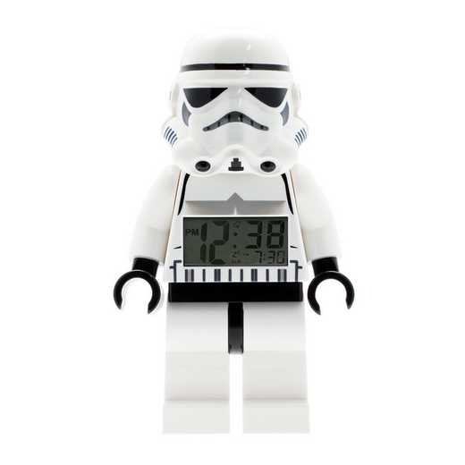 LEGO-9002137: Star Wars Stormtrooper Minifigure Alarm Clock