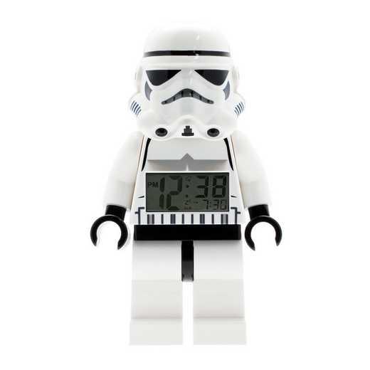 LEGO-9002137: Star Wars Stormtrooper Minifigure Alarm Clock