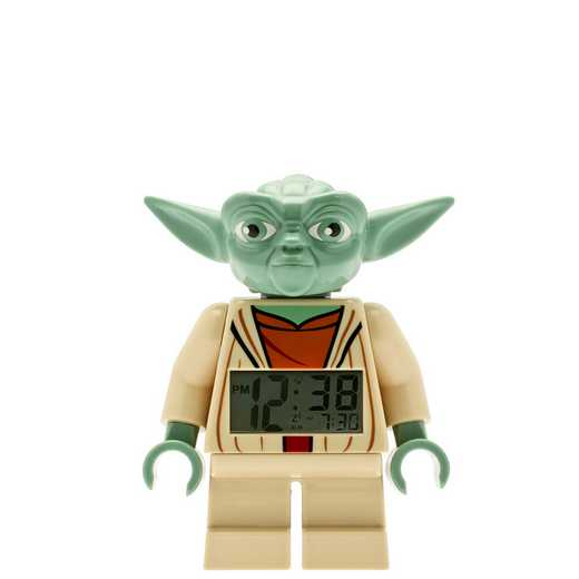 LEGO-9003080: Star Wars Yoda Minifigure Alarm Clock