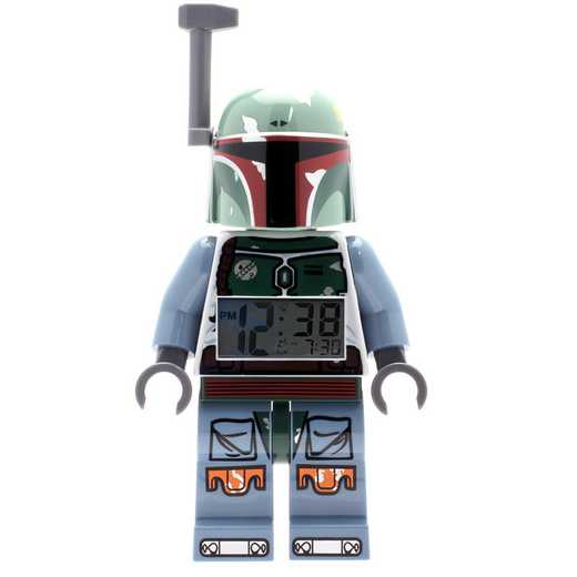 LEGO-9003530: Star Wars Boba Fett Minifigure Clock