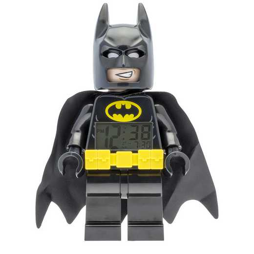 LEGO-9009327: Batman Movie Batman Minifigure Clock