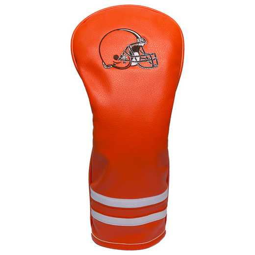 30726: Vintage Fairway Head Cover Cleveland Browns