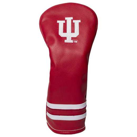21426: Vintage Fairway Head Cover Indiana Hoosiers