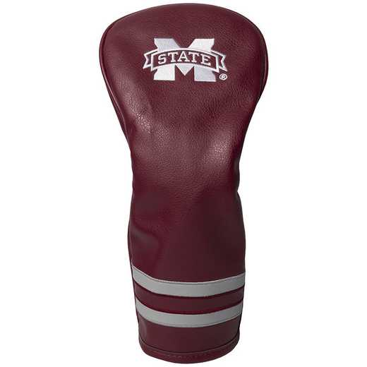 24826: Vintage Fairway Head Cover Mississippi State Bulldogs