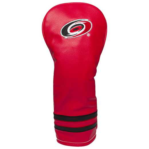 13426: Vintage Fairway Head Cover Carolina Hurricanes