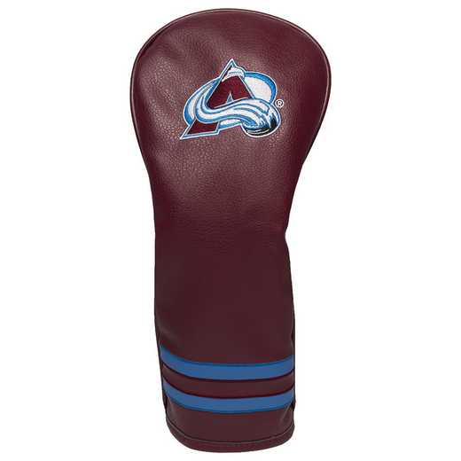 13626: Vintage Fairway Head Cover Colorado Avalanche