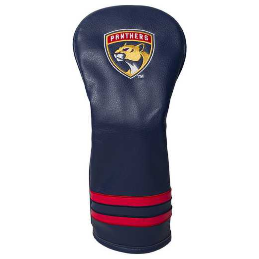14126: Vintage Fairway Head Cover Florida Panthers