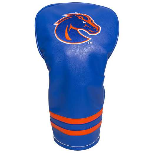 82711: Vintage Driver Head Cover Boise State Broncos
