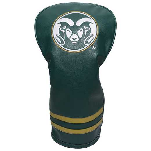 44911: Vintage Driver Head Cover Colorado State Rams
