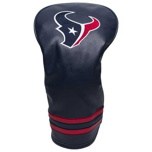 31111: Vintage Driver Head Cover Houston Texans