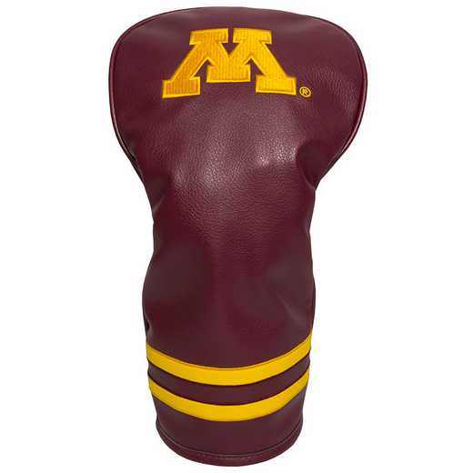 24311: Vintage Driver Head Cover Minnesota Golden Gophers