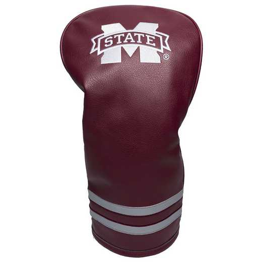 24811: Vintage Driver Head Cover Mississippi State Bulldogs