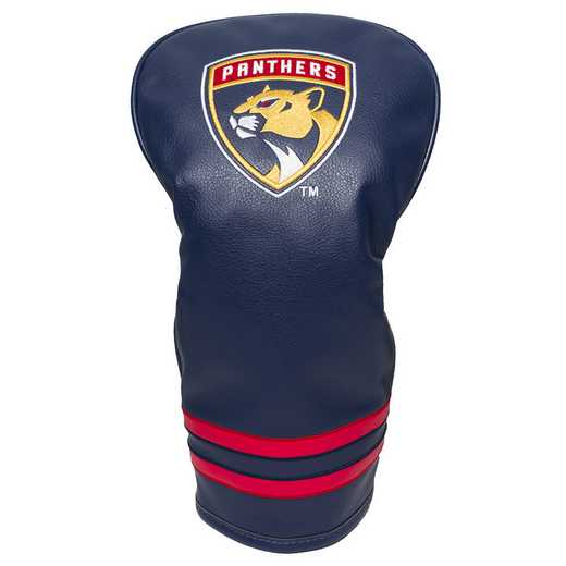 14111: Vintage Driver Head Cover Florida Panthers