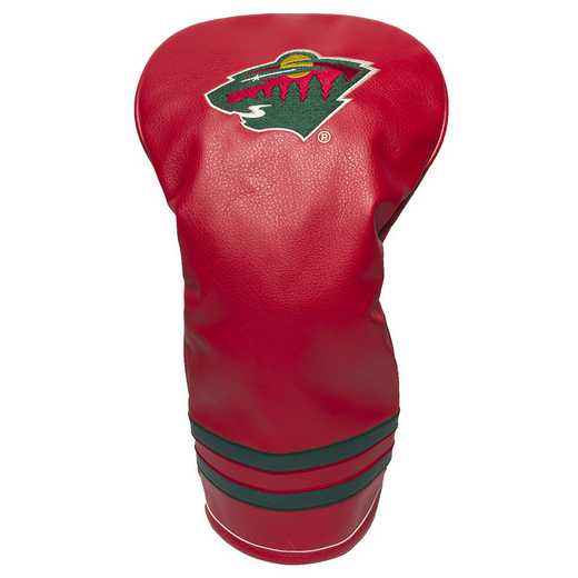 14311: Vintage Driver Head Cover Minnesota Wild