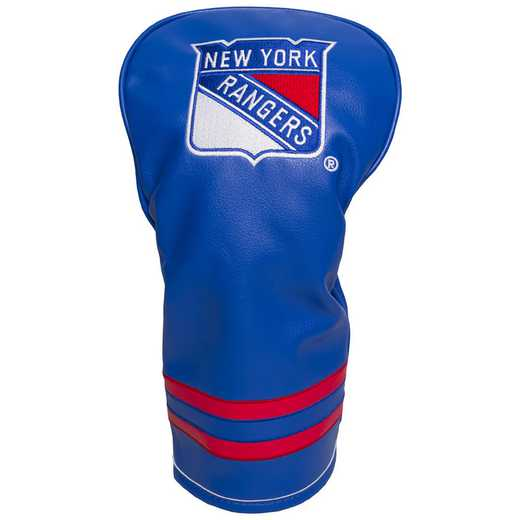 14811: Vintage Driver Head Cover New York Rangers
