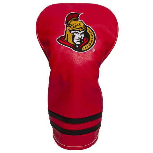 14911: Vintage Driver Head Cover Ottawa Senators