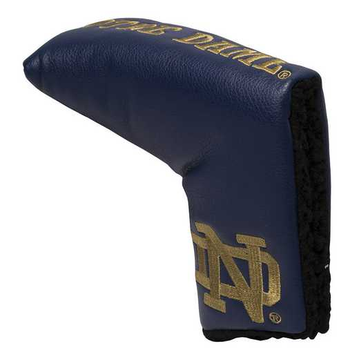 22750: Vintage Blade Putter Cover Notre Dame Fighting Irish