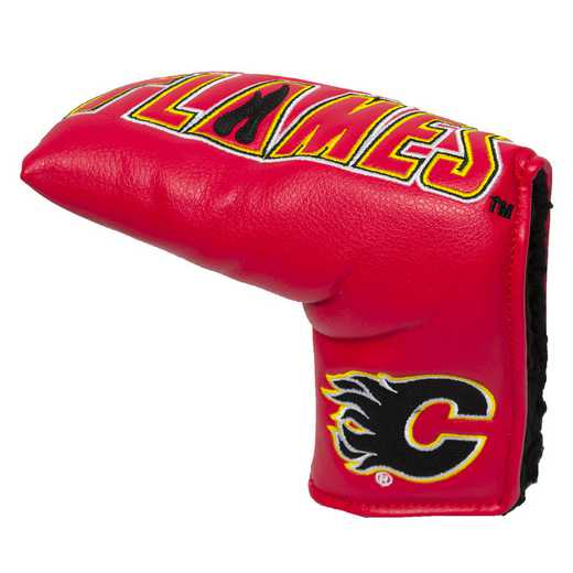 13350: Vintage Blade Putter Cover Calgary Flames