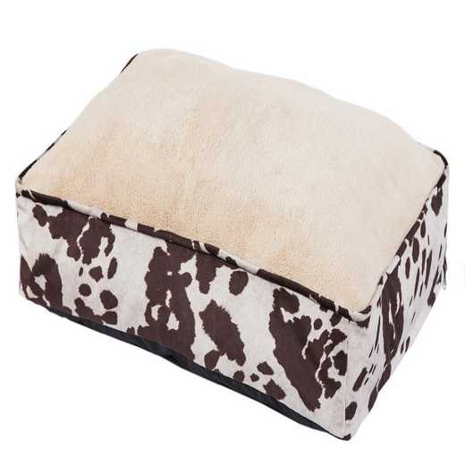 DB3067: HEA Cowhide Pattern Dog Bed
