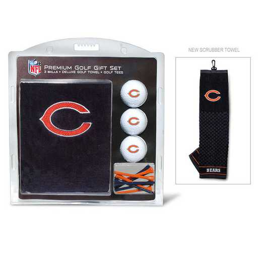 30520: Embr Golf Twl3Golf BallGolf Tee St Chicago Bears