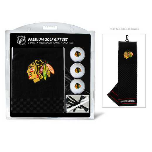 13520: Embr Golf Twl3Golf BallGolf Tee St Chicago Blackhawks