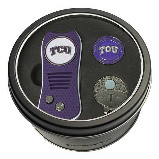 25357: Tin GtST Swchfx DVT CpClip Ball Mkr TCU Horned Frogs