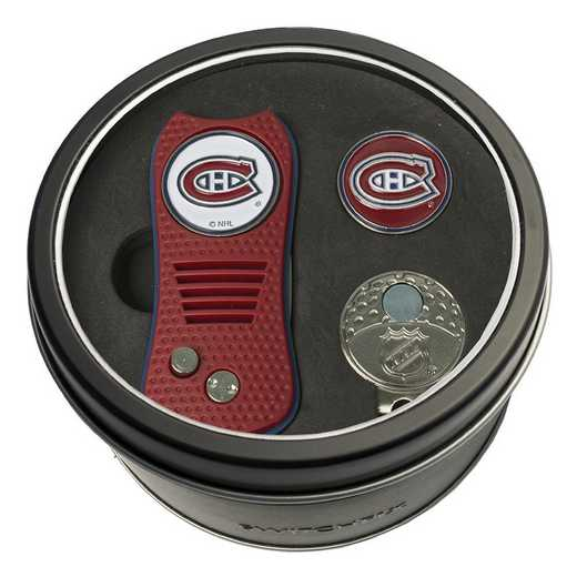 14457: Tin GtST Swchfx DVT CpClip Ball Mkr Montreal Canadiens