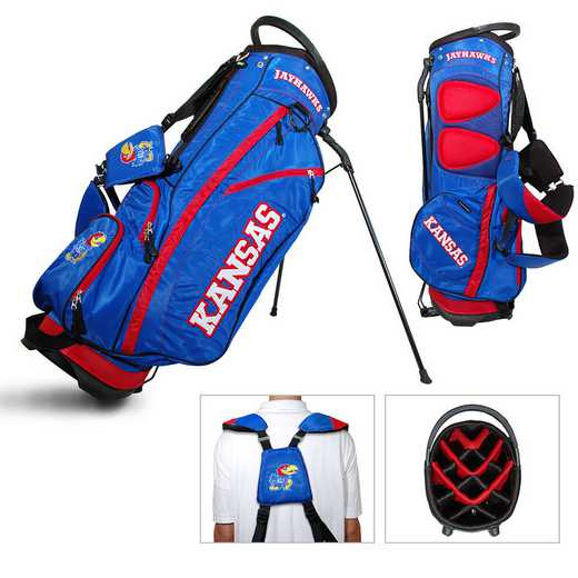 21728: Fairway Golf Stand Bag Kansas Jayhawks