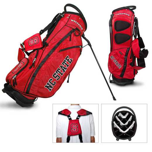 22628: Fairway Golf Stand Bag NC State Wolfpack