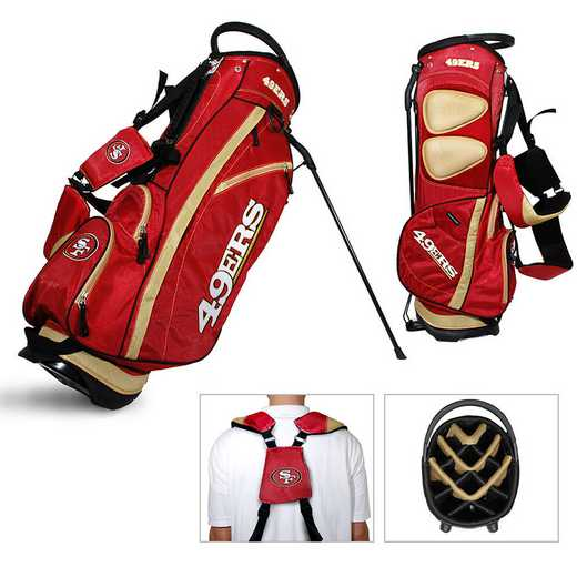 32728: Fairway Golf Stand Bag San Francisco 49ers