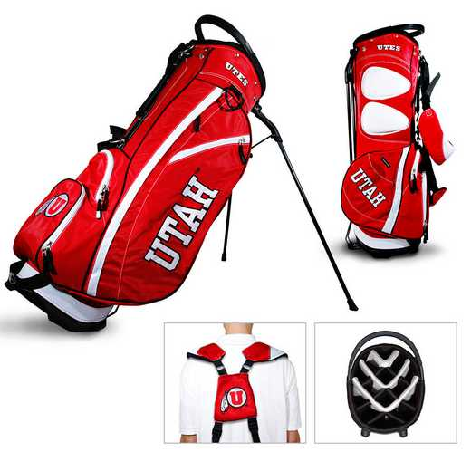 80528: Fairway Golf Stand Bag Utah Utes