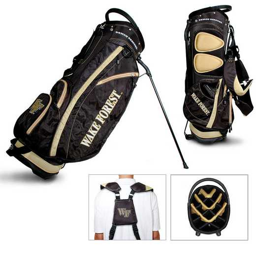 23828: Fairway Golf Stand Bag Wake Forest Demon Deacons
