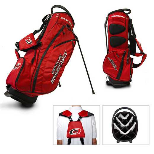13428: Fairway Golf Stand Bag Carolina Hurricanes
