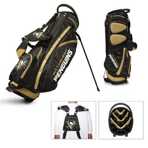 15228: Fairway Golf Stand Bag Pittsburgh Penguins