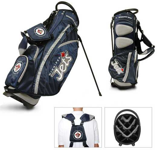 15928: Fairway Golf Stand Bag Winnipeg Jets