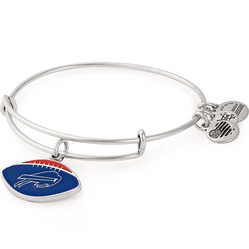 1076fba9257 Alex and Ani Color Infusion Buffalo Bills Football Charm Bangle