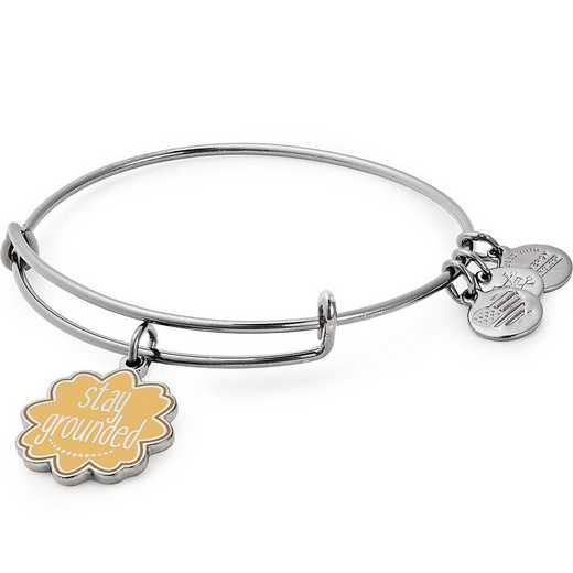 A18EBWAP03RTH: Stay Grounded Charm Bangle