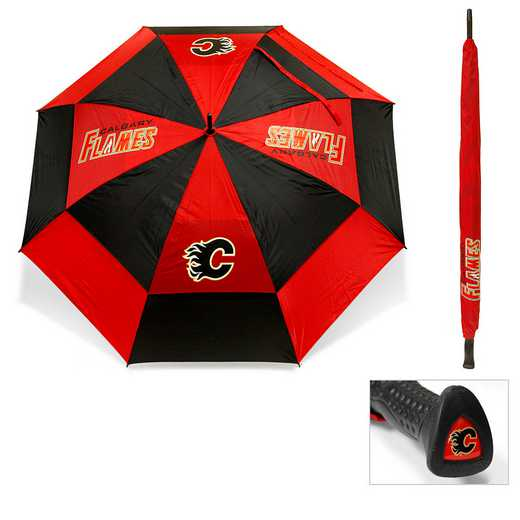 13369: Golf Umbrella Calgary Flames