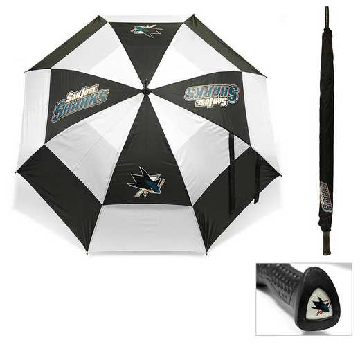 15369: Golf Umbrella San Jose Sharks