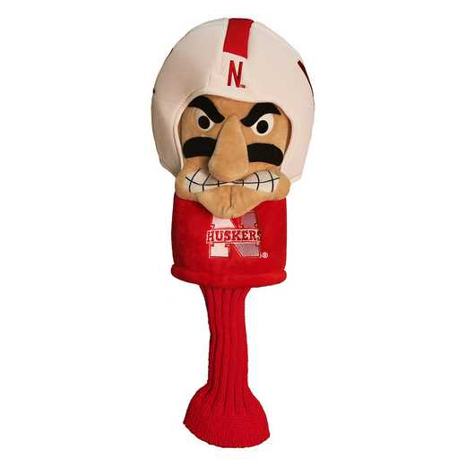 22413: Mascot Head Cover Nebraska Cornhuskers