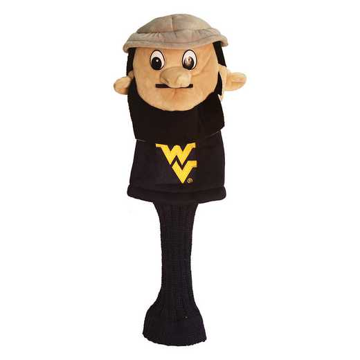 25613: Mascot Head Cover West Virginia Mountaineers