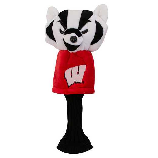 23913: Mascot Head Cover Wisconsin Badgers