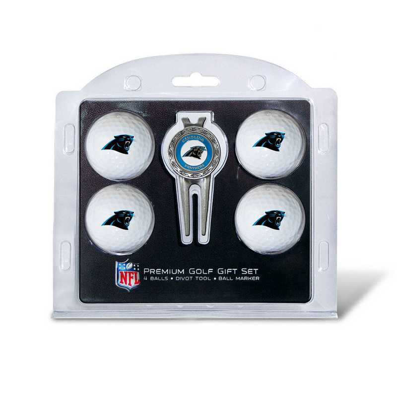 30406: 4 Golf Ball And Divot Tool Set Carolina Panthers