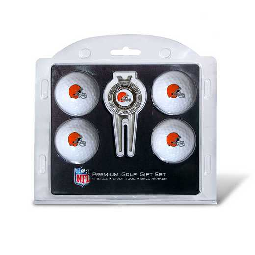 30706: 4 Golf Ball And Divot Tool Set Cleveland Browns