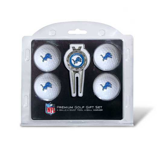 30906: 4 Golf Ball And Divot Tool Set Detroit Lions